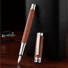 DARB ahşap mürekkepleri dolma kalemler doğal el yapımı tam ahşap arıtma kaligrafi moda öğrenci yazma hediye seti