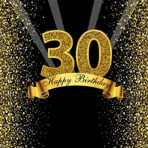 Image 5 - Happy Sweet 18th 25 30 40 50 55th Birthday Party Gold Dot Party Banner Photo Background Photophone Photo Backdrop Photostudio