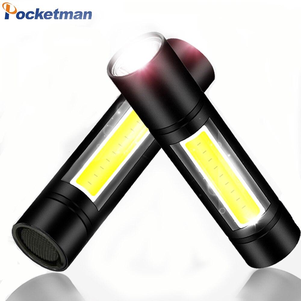 8000Lumens COB LED Flashlight Super Bright Waterproof Handheld Flashlights Torch Lantern Work Light for Emergency Lighting