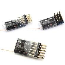 Compatible avec FUTABA mini récepteurs 4CH 6CH à réponse rapide et haute sensibilité recommandés pour T6J/T14SG/16SZ/18SZ/18MZ