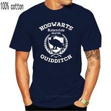 2020 yeni mektup baskı Ravenclaw Quidditch T Shirt komik yetişkin erkek pamuk Tee boyutları S 5Xl