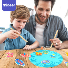 Kids Wooden Magnet Fishing Toys Creative Game Early Learning Educational Toys For Children Gift Puzzle Toys For Boys Girls