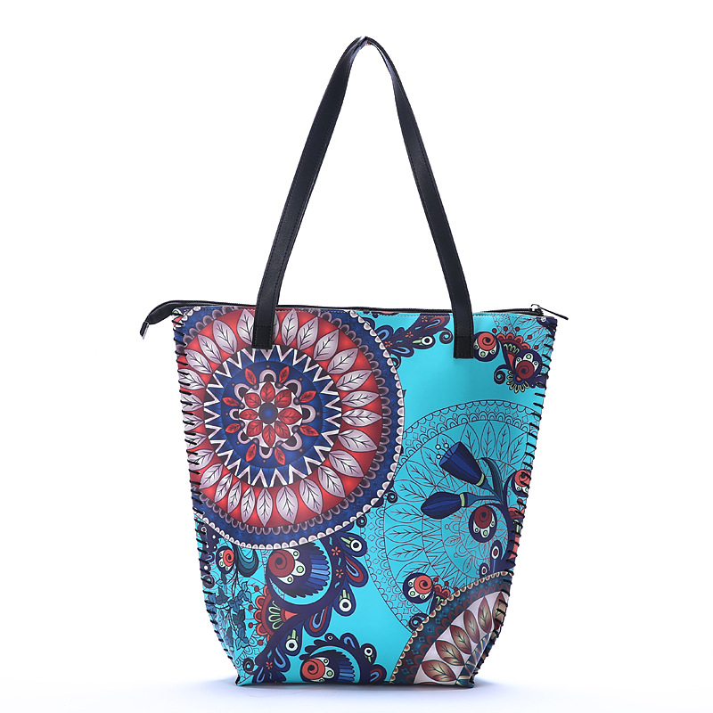 2020 Lady Retro Shopping Carrier Ethnic Shoulder Bags Luxury Handbags Women Designer Classical Style Tote Bags