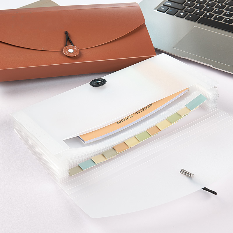 13 Portable Pockets Expanding File Folder Accordion File Folder Expandable Business File Organizer With Label Classify