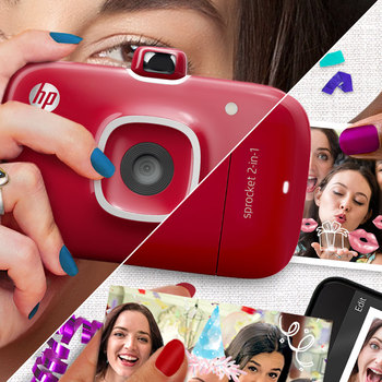 Звездочка 2 в 1 Polaroid camera photo printer два в одном портативный карманный Bluetooth inkless принтер Автоспуск сублимационная передача