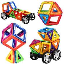 Kyara Big Size Magnetic Building Blocks Model Sets & Magnetic Construction Toys Magnetic Educational Toys for Children Gifts 110pcs magnetic building blocks model