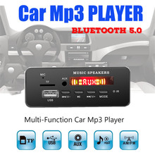 Wireless MP3 WMA Decoder Board Remote Control Player 12V Bluetooth 5.0 USB FM AUX TF SD Card Module Car Radio MP3 Speaker недорого