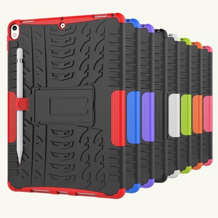 Купить с кэшбэком Defender Stand TPU PC Shockproof Protective Silicone Plastic Armor iPad Air 3 7th 2019 Generation Case For iPad Pro 10.5 inch