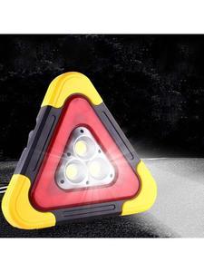 Image 5 - Multi Function Triangle Warning Sign Car LED Work light Road Safety Emergency 6XDB