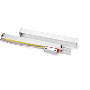 Image 5 - DRO 2 Achsen digital anzeige mit 2 stücke 50 1020mm linearen skala/linear encoder / linear herrscher für fräsen drehmaschine maschine