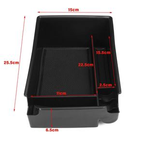Image 5 - Car Armrest Storage Box Case Central Anti slip for Hyundai Sonata DN8 10th 2020
