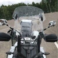 Motorcycle Windshield Adjustable Windscreen Extension Wind Deflector Unversal Decals For Honda Hornet 250 600 900