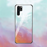 silicone case Tempered Glass Case For Huawei mate 10 20 lite Cases Space Silicone Covers for Huawei mate 20X 20 P30 pro back cover (3)