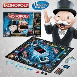 Hasbro Monopoly E-Banking Upgrade Trading Spiel Spielen Für Erwachsene Familie Gaming Bildung Spielzeug Brettspiel Chinesische Version