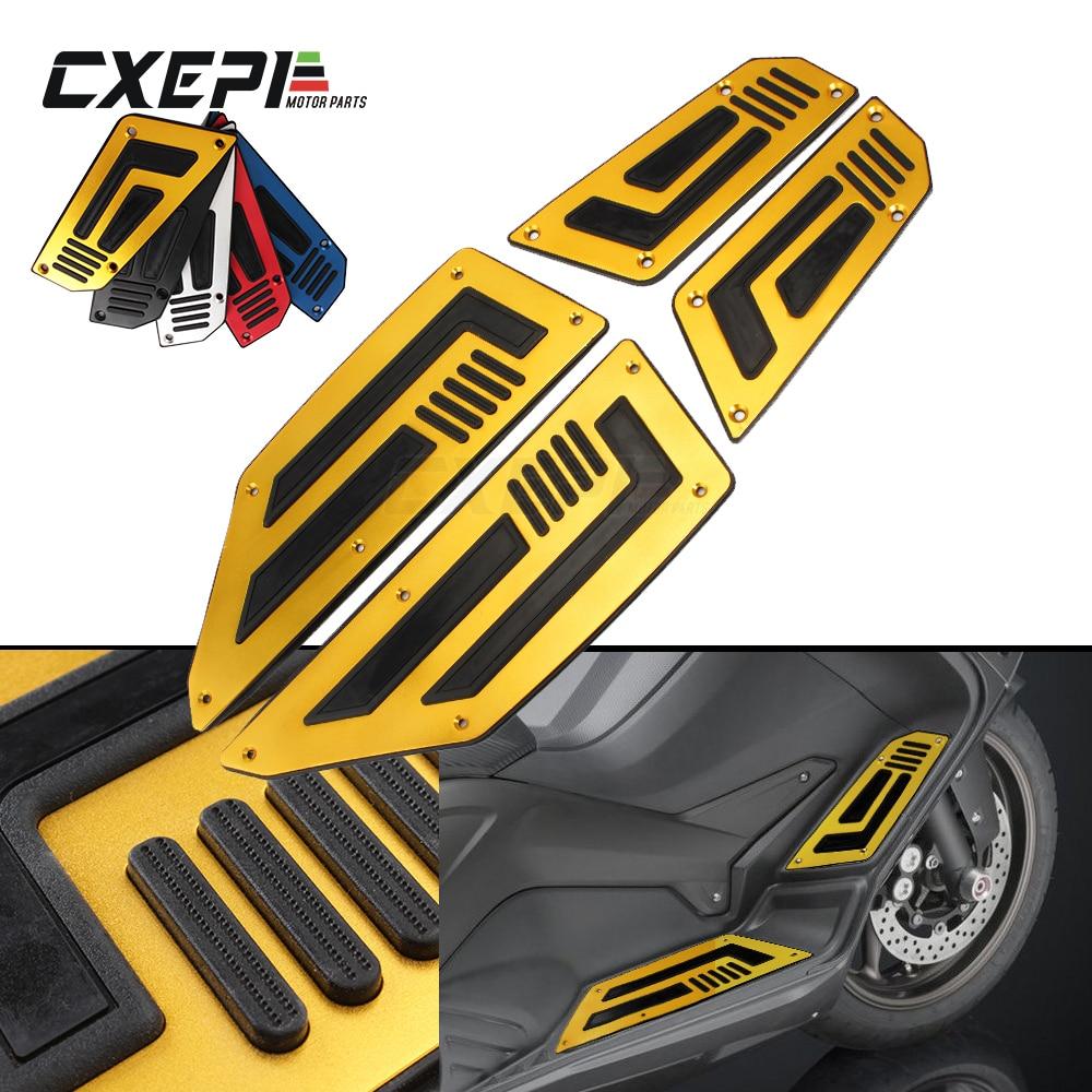 Motorcycle Footboard Steps Motorbike Foot For Yamaha TMAX 530 TMAX530 T-MAX 530 2012 2013 2014 2015 2016