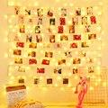 5 м 10 фото клип USB гирлянда гирлянды светодиодные гирлянда Новое поступление на Новый год вечерние свадебные настенный Рождественский Декор...