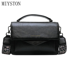 2019 Fashion Women PU Leather Shoulder Small Flap Crossbody Handbags Top Handle Tote Messenger Bags
