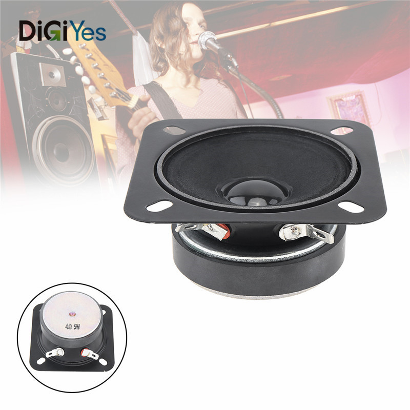 2.5Inch Portable Tweeter Full Frequency Neodymium Rubber Car CD Amplifier Loudspeaker with Bluetooth for Car/Loaded Box/Pill XL
