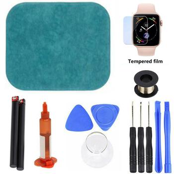38mm 42mm 40mm Front Touch Screen Glass Lens LCD Outer Panel Replacement Screen Repair Kit For Apple Watch 2/3/4/5/6 Series image