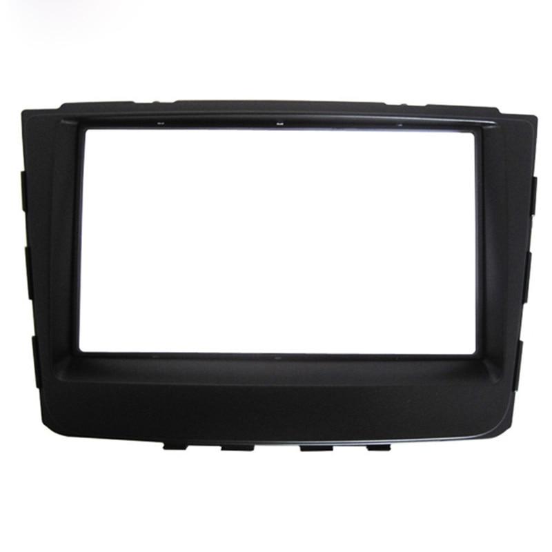 Cadre de tableau de bord de voiture Radio Fascia pour Hyundai Elantra IX25 2014 2DIN kit de panneau autostéréo Installation de garniture de CD détecteur de voiture