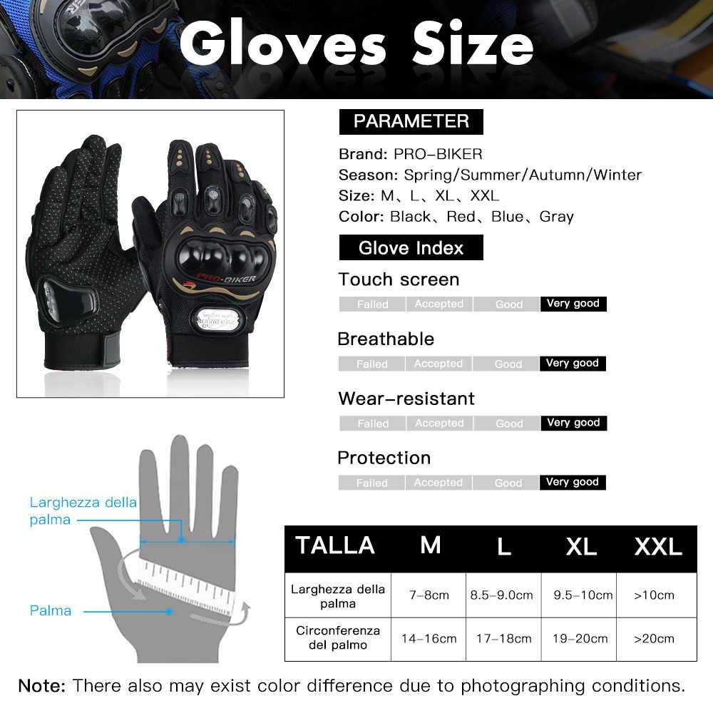 Estate Guanto Moto Ingranaggi di Protezione Blindata Knuckle Moto Corse di Motocross Antivento Impermeabile Da Indossare Guanti
