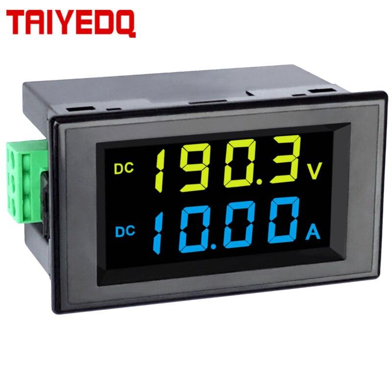 DC измеритель напряжения и тока двойной дисплей цифровой дисплей головка ЖК цифровой дисплей D85 3051AG ЖК дисплей высокой четкости жидкокристаллический|Измерители тока|   | АлиЭкспресс