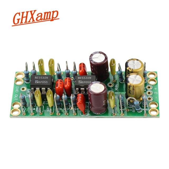GHXAMP NE5532 متوازن XLR إلى واحد نهاية RCA الناتج المزدوج op أمبير لوحة دوائر كهربائية صغيرة الحجم منخفضة تشويه منخفضة الضوضاء