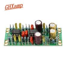 GHXAMP NE5532 сбалансированный XLR к одноконтурному RCA выходу, двойной op amp печатная плата, маленький размер, низкий уровень искажений, низкий уровень шума