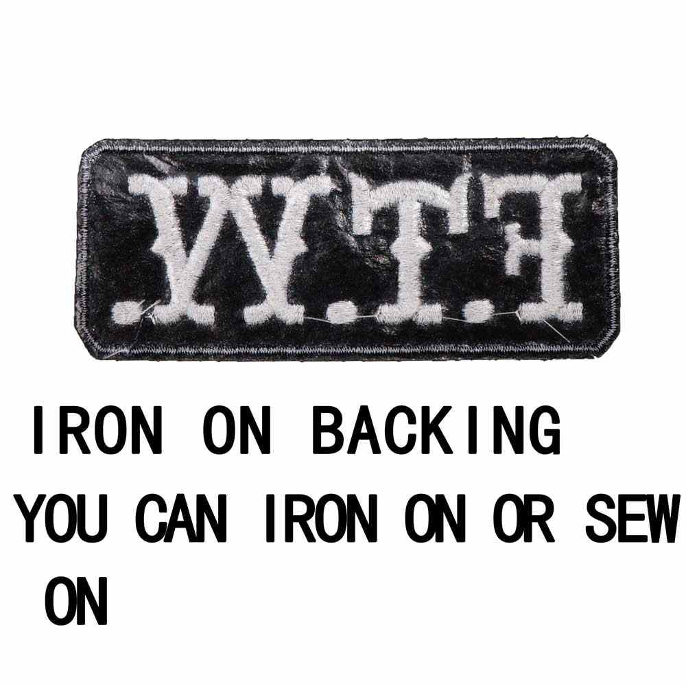 Embroidery Sewing DIY Cute Funny Name Tag Badge Hipster Patch for Jackets His Game is Tight 4 x 1.5 IronSew-OnHook Embroidered Patch