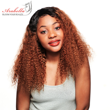 Kinky Curly Lace Front Wig 100% Human Hair Wigs With Baby Hair 1b/30 Remy Hair Lace Front Wig Glueless Ombre Lace Front Wig afro kinky curly free part baby hair glueless lace front wig baby hair 12 26inch full lace wig cheap wigs for african women