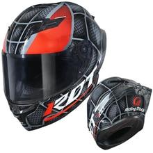 Marvel stil Helm Motorrad Männer Frauen mode Voll Gesicht Professionelle Reiten Helm Eisen Mann Venom Joker Kühle maske design X310