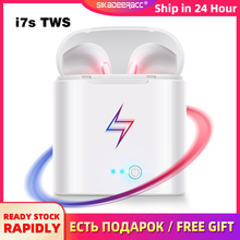 i7s Tws Bluetooth Earphones with Charging Box For Smart Phones Mini Wireless Ear