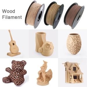 Image 3 - 3D Wooden PLA 3D Printer Filament 1.75mm 1000G/500G/250G Mahogany Wood Color 3D Printing Materials Supply PLA Dropshipping