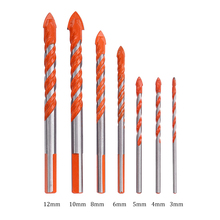 Center-Drill Drill-Bit Electric-Tools Concrete-Ceramic-Tile Metal Hammer Wall-Hole Round Shank