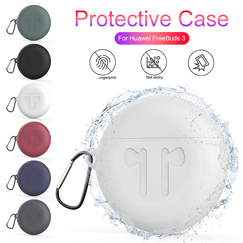 Soft Silicone Case For Huawei Freebuds 3 Wireless Headphones Earphone Cases For Freebuds 3 Free Buds 3 Charging Case Cover