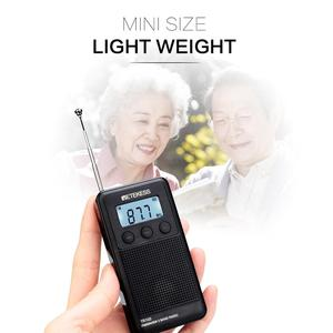 Image 2 - Retekess TR103 Portable Pocket Mini Radio FM / MW / Shortwave Radio Digital Tuning 9/10Khz MP3 Music Player Rechargeable Battery