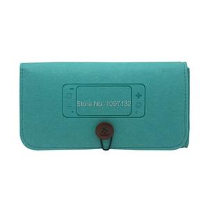 Image 3 - ใหม่สำหรับ Nintend SWITCH Lite MINI คอนโซล Felt กระเป๋าพกพานุ่มกระเป๋ากันกระแทก 4 การ์ดเกมสล็อตเก็บ
