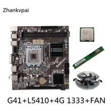 Assemble-Set Computer Intel-Cpu-Set G41 Quad L5410 Desktop for with Core2.33g Memory