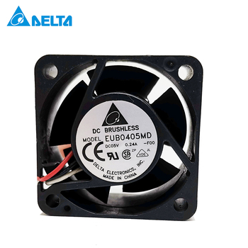 For Delta EUB0405MD F00 40x40x20 DC 5V 0.24A 3-line Switch Server Quiet Cooling Fan цена 2017