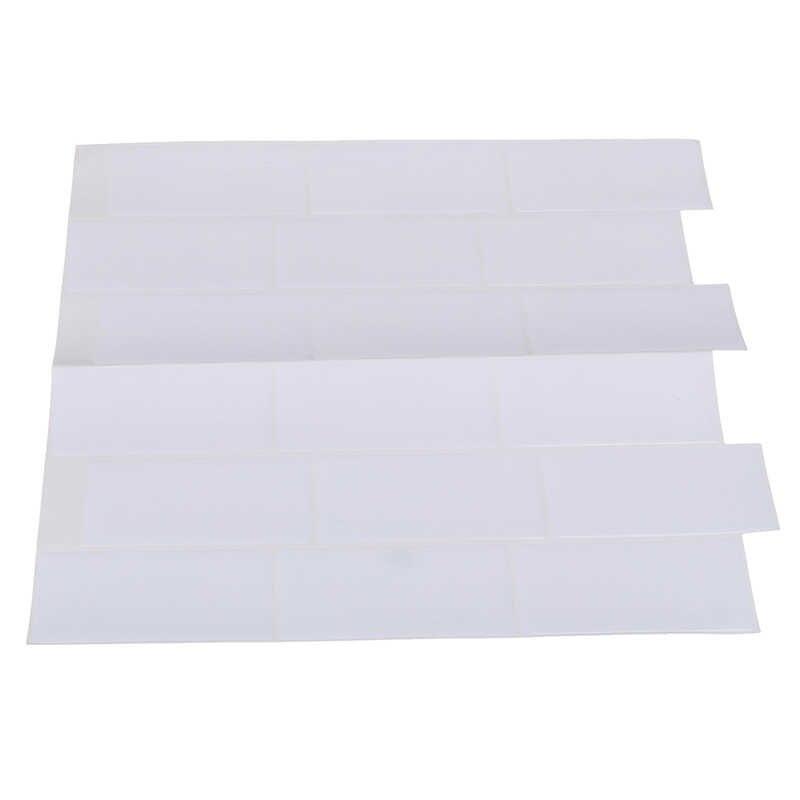 1 шт. белая плитка самоклеящаяся пленка щиток кирпичная стена наклейка для ванной
