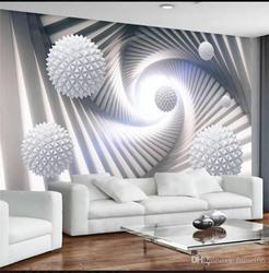 3d wandbilder wallpaper für wohnzimmer Moderne minimalistischen lila tapeten löwenzahn tapeten platz TV hintergrund wand