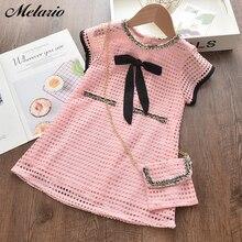 Melario Girl Sweet Dress Summer Causal Print Girls Kids