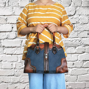 Image 3 - 2019 New Luxury Vintage Women Handbags Designer Brand Crossbody Bags Leather Women Shoulder Bag Laides Hand Bag Purse Tote
