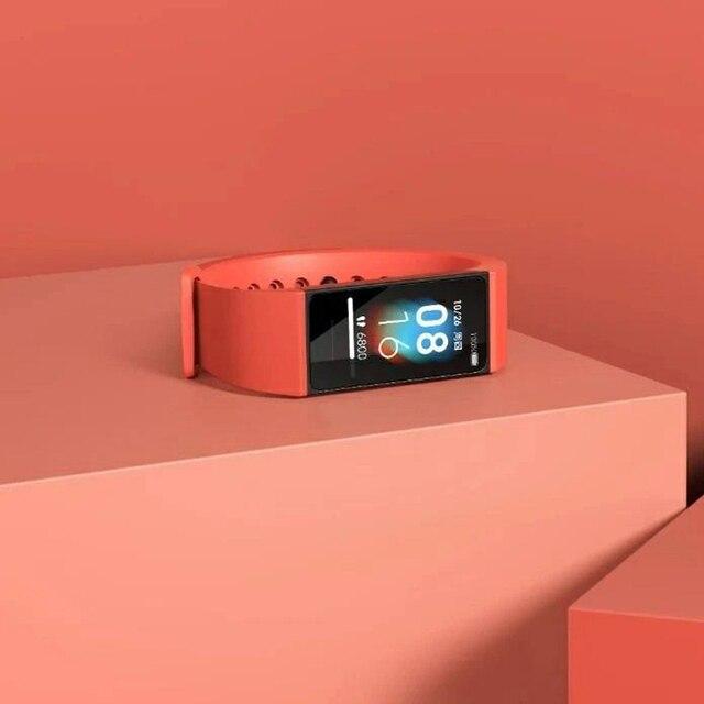 Xiaomi Redmi zespół inteligentne tętno Fitness Sport Tracker Bluetooth 5.0 wodoodporna bransoletka dotykowy duży kolorowy ekran nadgarstek