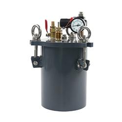 Carbon Steel Pressure Barrel Dispensing Machine Dispensing Valve Storage Glue Tank Mixing Tank Dispensing Storage Barrel 1L-100L