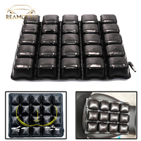 Reamocea 38*38cm TPU Motorcycle Air Seat Cushion Pressure Relief Ride Cushion Inflatable Seat Pad for Cruiser Touring Saddles
