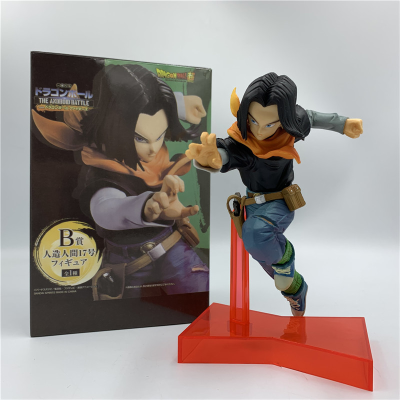 Dragon Ball The Android Battle Android No.17 PVC Figure New Loose 16cm