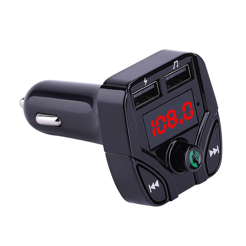 FM Transmitter Aux Bluetooth Handsfree Car Kit Audio MP3 Player With Dual USB Charger New Arrival