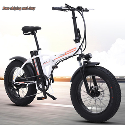Bicicleta eléctrica plegable 48v 15ah batería de litio 20 llanta de freno de grasa plegable e-bike disco 500w ebike bicicleta eléctrica