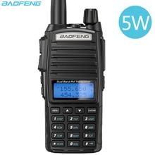 Baofeng UV 82 5W taşınabilir radyo Walkie Talkie UV 82 çift 2 PTT çift Band VHF/UHF 136 174/400 480MHz UV82 iki yönlü CB Ham radyo